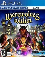 Werewolves Within - PlayStation VR PS4 BRAND NEW SEALED