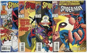Spider-Man 2099 #13 - 25  Complete Run  avg. NM 9.4 white pages  Marvel  1993