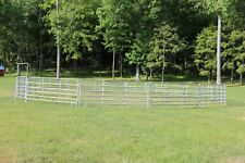"Round pen (15 panels one door) Size: 12' x 2.5"" x 5' (panel)"