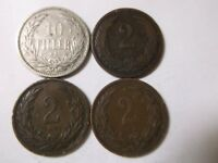 1893,1896,1901 1905 4- Pfennig's Germany - Very Good - 4 Coins lot