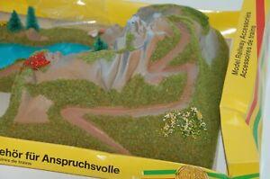 Busch N 8000 Ecktunnel mit See und 1-gleisig