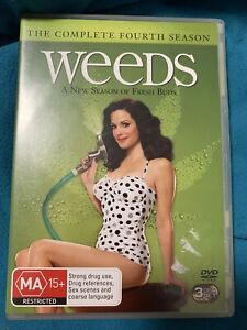 WEEDS Complete Season 4 (3 disc DVD set, 2010) - VG!!!