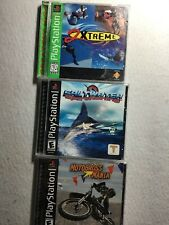PlayStation Extreme Sports Lot (3 Games): Motocross, Sport fishing, 2 Xtreme