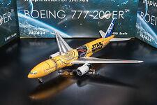 Phoenix All Nippon Airways ANA Star Wars C-3PO 777-200ER JA743A 1:400