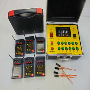 24 Cues Remote Wireless Fireworks Firing system control happiness igniter party