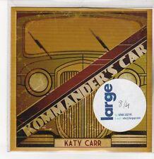 (DQ899) Kommander's Car, Katy Carr - DJ CD
