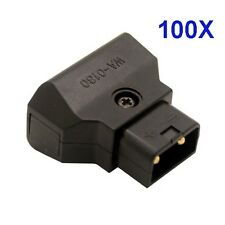 100xPCS DTAP, D-Tap Plug DIY for DSLR Rig power cable V-mount Anton Battery Male