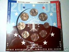 2008 8 monete 3,88 EURO FRANCIA France Frankreich França Франция