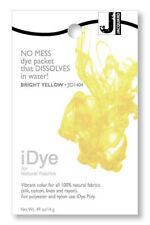 Jacquard iDye Fabric Dye Natural Fibres  14g  - Brt Yellow