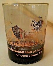 Baseball Glass National Hall Of Fame Museum Cooperstown Ny Gold High Low Ball.