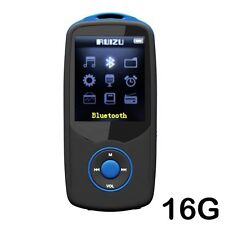 Cfzc 16GB Bluetooth MP3 Player sin pérdida de sonido música reproductor multimedia con voz de FM