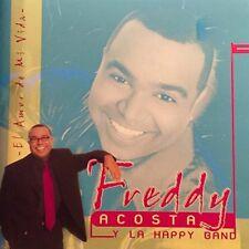Freddy Acosta Y La Happy Band - EL AMOR DE MI VIDA - 9 TRACK MUSIC CD - H282