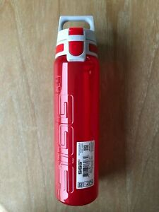 SIGG Viva One Red - One-Hand Use Water Bottle