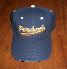 PITT PANTHERS UNIVERSITY OF PITTSBURGH BLUE & GOLD HAT - NEW