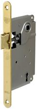 """Serratura AGB serie """"Centro"""" tipo Patent - solo scrocco - bordo tondo oro lucido"""