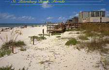 postcard   USA Florida  St Petersburgh  Beach  unposted