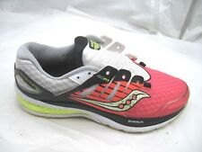 Saucony 9M Triumph Iso 2 red black running womens ladies running sneakers shoes