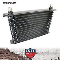 Proflow High Performance Engine Oil Cooler 15 Row 340 x 210 x 50 -10AN Fittings