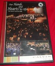 Calvin College Our Hands and Hearts We Offer Fall Music Festival 2008 DVD VGC
