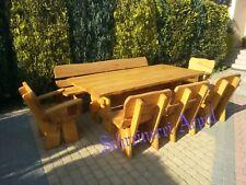 Gartenmöbel  Massivholz Terrassenmöbel Sitzgarnitur Sitzgruppe Esche