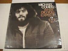 Michael Cohen/ What Did You Expect/ Folkways/ 1973/ SEALED