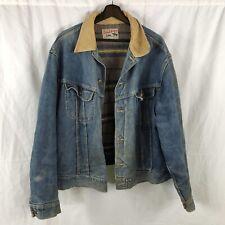 Vintage Lee Storm Rider Denim Jean Jacket Size 48