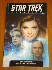 STAR TREK CLASSICS VOL 3 ENCOUNTERS WITH THE UNKNOWN IDW GN 9781613772119 <