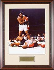 Muhammad Ali over Sonny Liston 8X10  Custom Framed