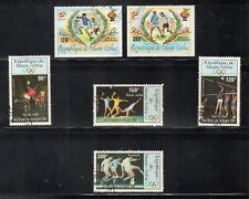 Alto Volta Mundial Futbol España 82 y Olimpiada los Angeles 1984 (DQ-284)