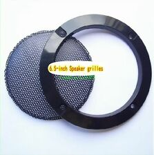 "1pcs 6.5""inch 185mm Speaker decorative circle protective grille Audio net cover"