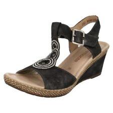 Sandali e scarpe t bar Remonte per il mare da donna