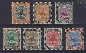 Sudan SG 30 - 36 Mounted Mint Cat £32