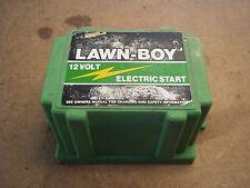 """Lawn Boy Mower Battery Box """"Lawn Boy Electric Start"""""""