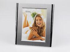 Cadre Photo Cadre Photo moderne en aluminium mat et brillant argent 15x20 cm