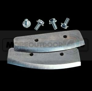 """11735 NEW ION 8"""" Electric Ice Auger Bit Replacement Blades"""