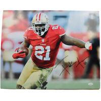 Frank Gore San Francisco 49ers NFL #21 16x20 Signed Autograph Photo JSA Cert.