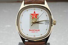 Orologio Poljot Baikonur Azia-Tv Gagarin Meccanico USSR CCCP