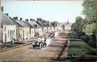 1906 Car/Auto Racing Postcard: French, 'Circuit de la Sarthe' #172