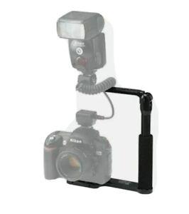 Used, Custom Brackets Digital Camera Bracket for Canon or Nikon, BRACKET ONLY