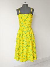 Vintage 60s 70s Malia Honolulu Yellow Sundress … Novelty Frog Print Cotton Dress