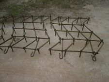 Antique wrought/cast iron harrows