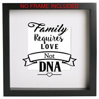 Friends forever never apart Box Frame Sticker Ribba quote best friend birthday