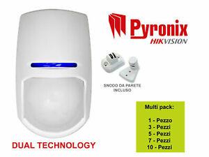 PYRONIX SENSORE KX15DT VOLUMETRICO DIGITALE DOPPIA TECNOLOGIA 15 MT MULTIPACK