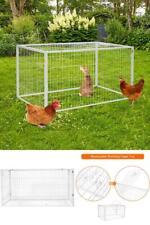 Chicken Run Cage Rabbit Playpen Dog Run Duck House Pet Pen Coop Hutch 53 x 31
