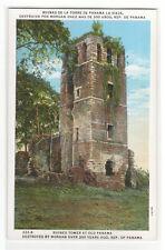Tower ruiniert von Captain Morgan RAID alte Panama 1920s Postkarte