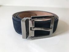 Dolce & Gabbana Suede Belt in Blue [Size 110 cm/44 in] Made in Italy