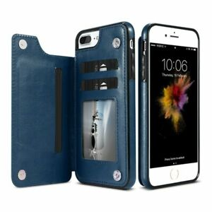 Flip Leather Phone Case Card Holder Wallet Case Cover For iphone XR 11 12 13 Pro