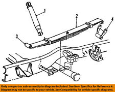 Dodge CHRYSLER OEM 90-93 Ramcharger Rear Suspension-Shackle 4228469