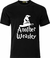 PERSONALISED ANOTHER WEASLEY SORTING HAT FUNNY HUMOR COTTON  T SHIRT