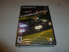 NEW FACTORY SEALED PLAYSTATION 2 PS2 CORVETTE FORD RACING GAME 2 GAMES IN 1 NFS